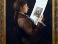 Catalina Mendoza Sandino, 1880, Pantaleón Mendoza, óleo sobre tela, Museo Nacional de Colombia.