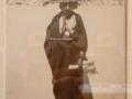 Retratos de la visita de la delegación de indígenas kikapú a la corte de Maximiliano (3/4), 1865, François Aubert, impresión a la albúmina sobre cartón, colección Serge Kakou.