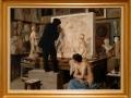 Rincón del taller, 1880, Édouard Joseph Dantan, óleo sobre tela, Musée d'Orsay.