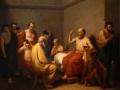 La muerte de Sócrates, 1858, Ramón Sagredo, óleo sobre tela, Museo Nacional de Arte - Acervo constitutivo.